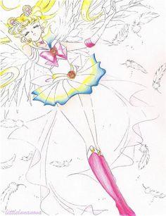 Manga. Sailor Moon.