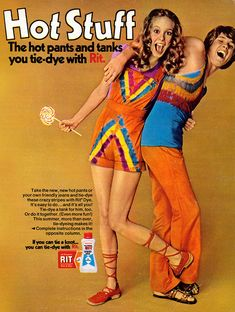 Tie-Dye, 1970s