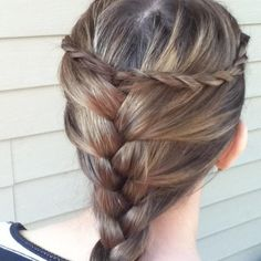 This is a really great hairstyle and is very simple and elegant looking !!!!!!!!!