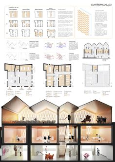 'Cuatropicos' 1st Prize Competition for the House of Music in Grañén, Huesca. by SMXL architect