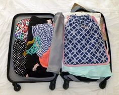 You all know how much I love my Samsonite Winfield Carry-On Suitcase. It used to be that I only took the bag on short trips, but since learning tips for how to pack for a week in a carry on suitcase I