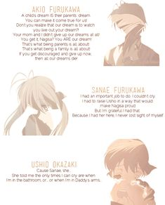 Clannad. <3 this anime will forever hold a special place in my heart