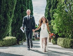 Genaea + Mikey - Intimate Villa Parma Wedding.  Sass & Bide wedding dress.  Photo by Lucy Spartalis of She Takes Pictures He Makes Films.