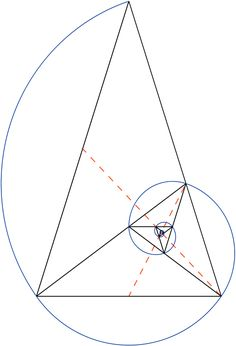 golden ratio illustration triangles - Google Search