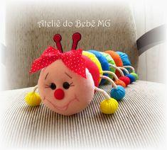 Ateliê do Bebê MG: Centopéia em Feltro