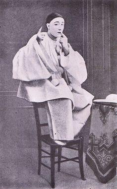 Louis Rouffe as Pierrot, c. 1880