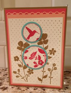 In Color Wildflower meadow card by binkiemonstermom - Cards and Paper Crafts at Splitcoaststampers
