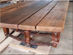 Loft asztal, eladó indusztriális bútor