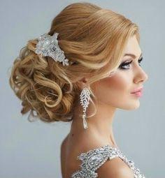 Düğünlük Topuz Modelleri 2015,Düğünlük saç Modelleri