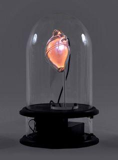 Blown glass sculptures of human organs by Jessica Lloyd-Jones