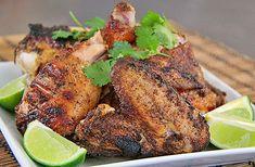 Mexican Spiced Chicken Under A Brick (Pollo bajo un ladrillo)