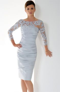 Elegant Mother Of The Bride Dresses Trends Inspiration & Ideas (59)