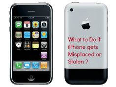 tracking an stolen iphone