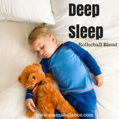 Deep Sleep Rollerball Blend with doTERRA Essential Oils - This is my favorite sleep blend for my daughter! It has made a tremendous difference in her sleep!