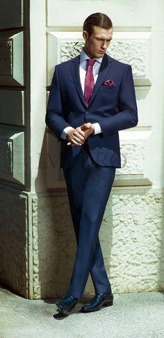EG KL 60-17 #sposo #groom #suit #abito #wedding #matrimonio #nozze #blu #blue #purple #porpora