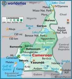 Cameroon Africa J'ai vecu a Nguelemendouga, entre Yaoundé et Bertoua.
