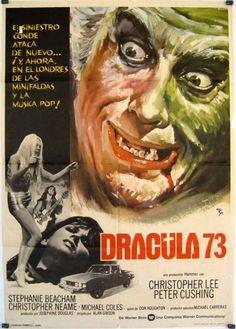 #dracula #movie #hammerhorror #christopherlee #horrorritual #petercushing #draculaad1972 #carolinemunro