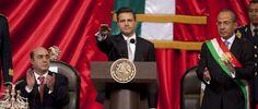 """PozaRica """"Protesto guardar y hacer guardar la Constitución Política de los Estados Unidos Mexicanos"""": EPN"""