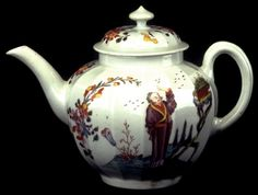 Teapot and Cover Worcester Factory Date: ca. 1760–1762