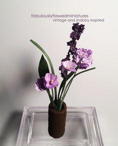 Fabulously Flawed Miniatures: Mini Flower Bouquet...