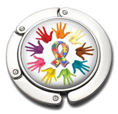 Autism Awareness Purse Hanger  Autism Awareness  by AGiftToLove