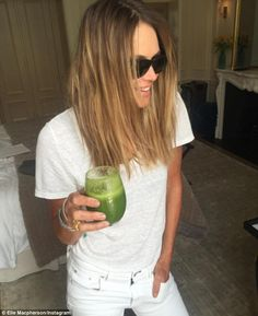 Green and clean! In a motivational post shared to Instagram on Saturday, Elle Macpherson, 52, told her followers that her natural beauty is harder to maintain the older she gets and that she has now embraced an alkaline diet