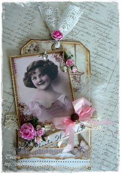 Tina`s Kreativblog: EAC-Vintage Tag