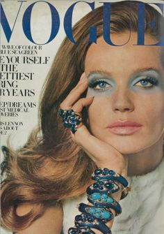 Veruschka.  Photo by Irving Penn.  Vogue, February 1969.