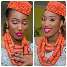 George Okoro Photography Nigerian Wedding: 20 Beautiful Rivers/ Ijaw Brides, Their Style, & Their Flawless Makeovers | Nigerian Wedding