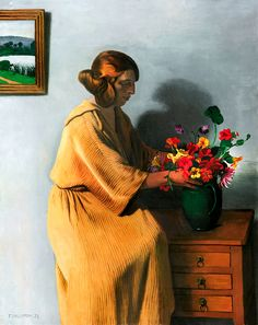 Le Bouquet, Félix Vallotton, 1922