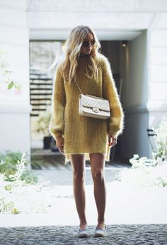 These cute fall dresses will have you looking fantastic this autumn! These are some of our favourite looks for when the weather gets colder! Nina Suess, Dress Outfits, Fall Outfits, Dress Ootd, Dresses Dresses, Stylish Outfits, Summer Dress, Look Chic, Mode Inspiration