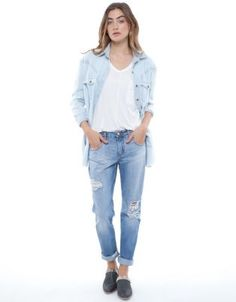 Beau Jeans The boyfriend nobody jeans  You can dress them up with heels and a plain tee or dress down :) love them