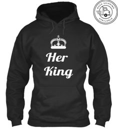 Discover I'am Her King Sweatshirt from Corrido Designs, a custom product made just for you by Teespring. - Check out the new launch from Corrido Designs. His And Hers Hoodies, Smooth Music, New Tank, New Launch, Latest Albums, Twitch Hoodie, Order Prints, King, Sweatshirts