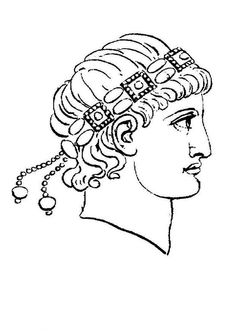 coloring page Roman era Kids-n-Fun