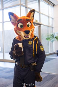 Nick Wilde Fursuit