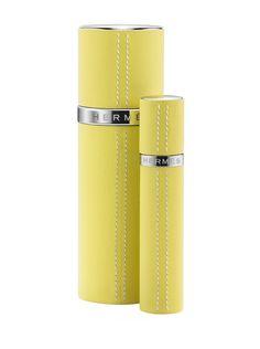 Le vaporisateur de parfum Cuir Nomade dHermès http://www.vogue.fr/beaute/buzz-du-jour/diaporama/le-parfum-nomade-d-hermes/13473