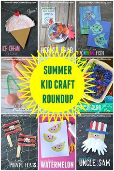 Summer Kid Craft Roundup