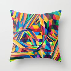Throw Pillow featuring The Optimist by Danny Ivan