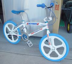 Skyway BMX ❤ light blue