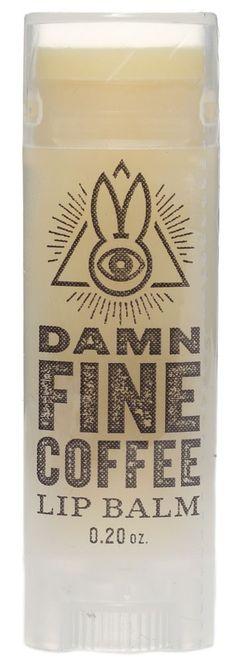 ARCANE BUNNY DAMN FINE COFFEE LIP BALM $5.00 #arcanebunnysociety #lipbalm #vegan #coffee