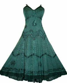Amazon.com: #600 Agan Traders Wedding Evening Party Gothic Summer Sleveless Dress: Clothing