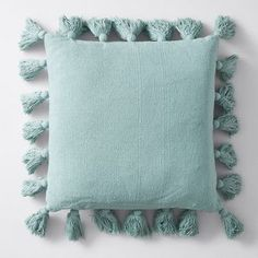 Textured Tassel Cushion - Natural | Target Australia Spring Home Decor, Beautiful Homes, Cushions, Throw Pillows, Texture, Bed, Inspiration, Design, House Of Beauty