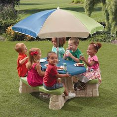 Found it at Wayfair - Naturally Playful Kids Rectangle Picnic Table
