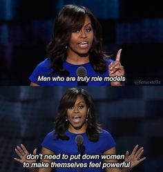 Michelle Obama fashion double standard comment points out the difference in attitude for outfit repeaters for men and women. Barak Obama Quotes, Empowerment Quotes, Women Empowerment, Michelle Obama Quotes, Michelle Obama Fashion, Girl Power Quotes, Feminism Quotes, Celebrity Travel, Celebrity Quotes