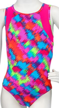 Pixel Fuchsia #leotard #gymnastics #leotards