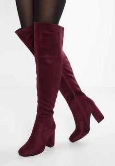 7867032f72f00 Idées vêtements · Chaussures Anna Field Cuissardes - bordo bordeaux  49,95  € chez Zalando (au