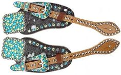 Spur straps, love the conchos on these