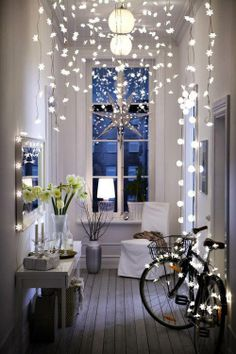 string lights make everything special.