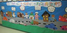 Excellent bulletin board idea that can be used during a Community Helpers Unit. Community Bulletin Board, Class Bulletin Boards, Preschool Bulletin Boards, Classroom Community, Preschool Themes, Kindergarten Social Studies, Teaching Social Studies, Kindergarten Classroom, Classroom Themes