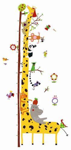 Mit diesem tollen Wandaufkleber für das Kinderzimmer können Sie die Größe Ihres kleinen Tarzans oder Ihrer kleinen Jane bis 160 cm festhalten! I n der Packung enthalten sind ein Messlatten-Sticker und...